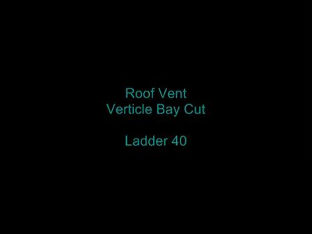Verticle Bay cut