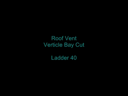 Verticle Bay cut