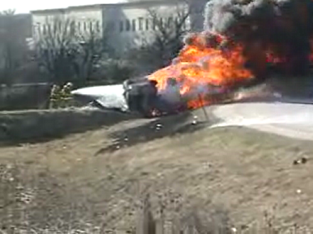I-55  Fully Involved Tanker Truck Fire-8000 Gallons Diesel Fuel