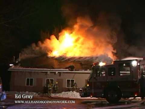 Second Alarm Fire: 1/25/11 Chestnut Ridge, NY