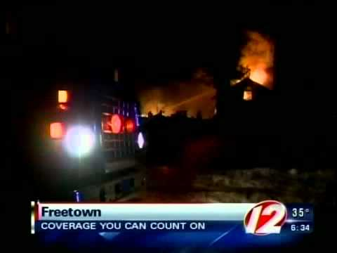 Fire Destroys MA House, Heavy Damage to Freetown Home