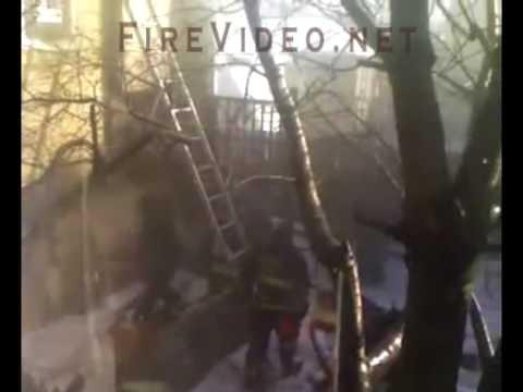 Chicago Smoke Explosion / CLOSE CALL