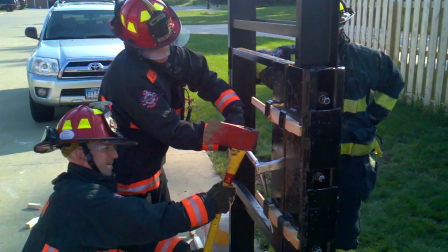 Forcible Entry Training - Avon (OH) Fire Department