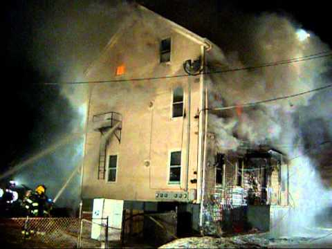 Fatal Two Alarm Fire In Fall River