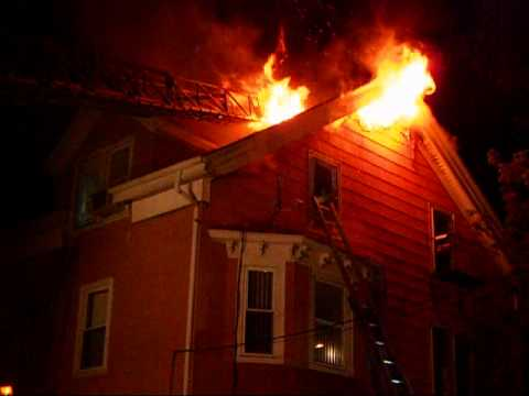 Early Morning Three Alarm Fire In Pawtucket