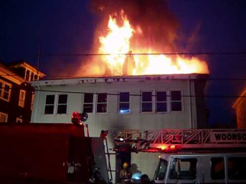 2 Alarm Fire In Woonsocket RI