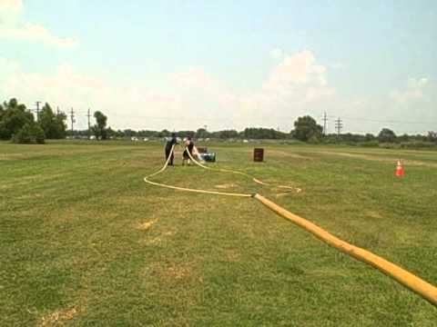 Houma Fire Department June Training Field Drills