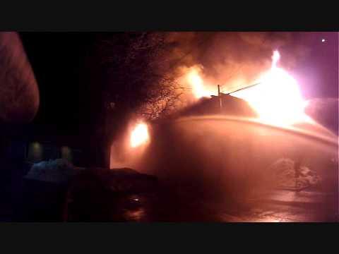 02162013 4 ALARM FIRE PT 3 HELMET CAM