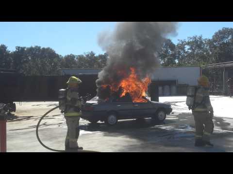 CAFS Car fire 1