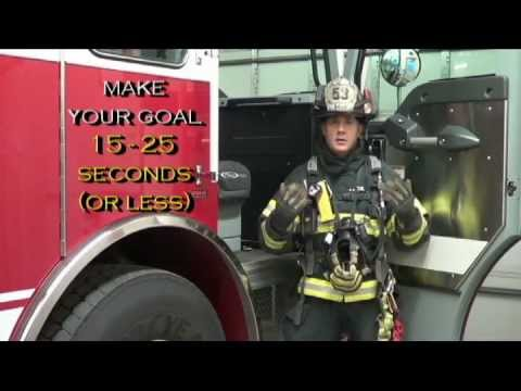 "Firefighter SCBA - How to improve your ""Mask Up"" times"