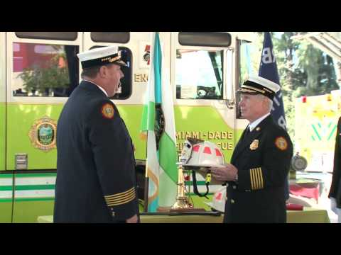 Change of Command Ceremony Miami-Dade Fire Rescue