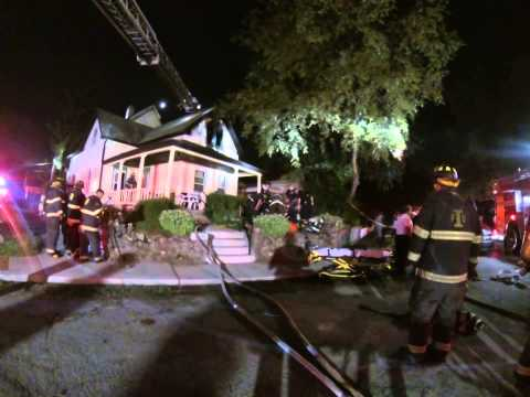 IFD House Fire with Rescue 3