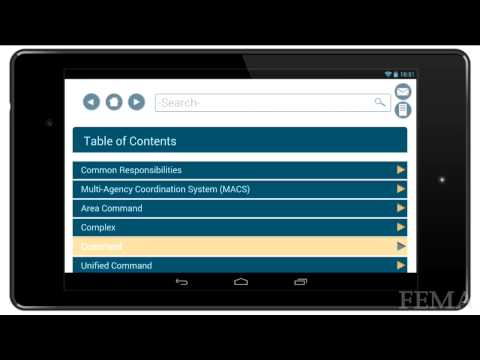 U.S. Fire Administration Field Operations Guide app