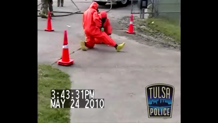 Tulsa Police Meth Explosion