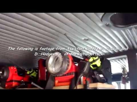 Helmet Cam: Cannon Street Dwelling Fire