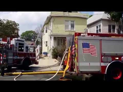 Elizabeth (NJ) Four-Alarm Fire
