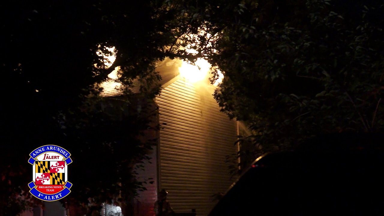 Pasadena (MD) Working Dwelling Fire with Extension