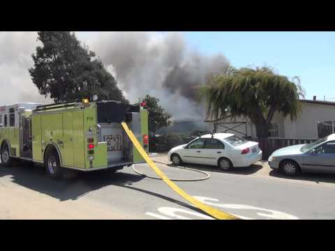 Oceano (CA) Structure Fire