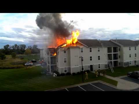 East Lansing (MI) Apartment Fire