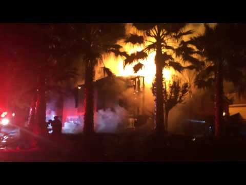 Sacramento (CA) House Fire