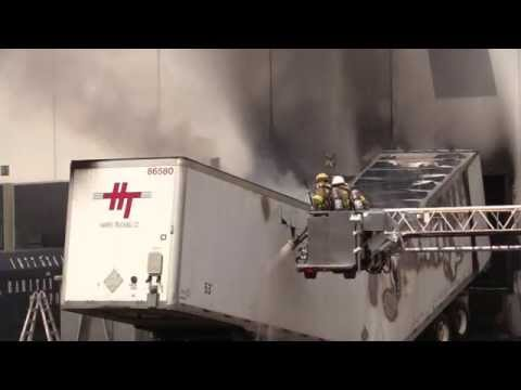 Lower Nazareth (PA) Two-Alarm Commercial Fire