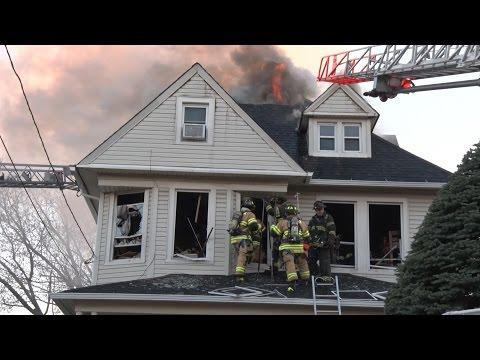 Three-Alarm Hackensack (NJ) Fire