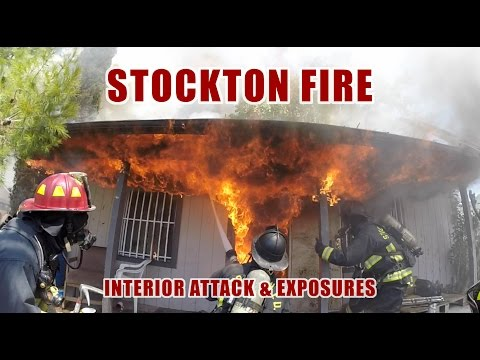 Stockton (CA) Dwelling Fire