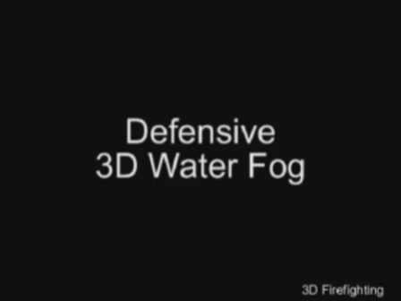 3D water fog techniques in real structure