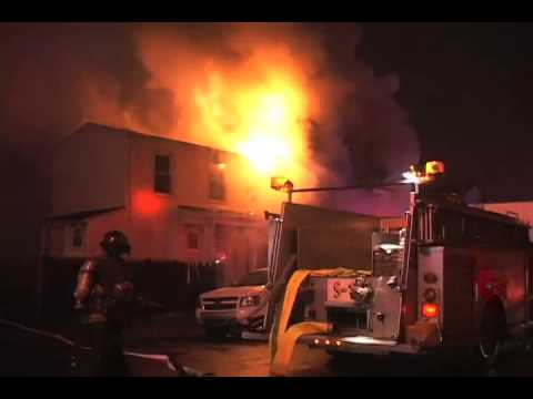 Paterson (NJ) Fire Department 2nd Alarm Fire 200 5th Ave 12/16/2014