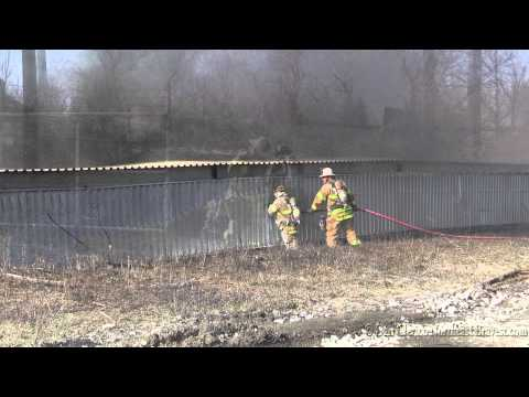 Nazareth (PA) Cement Plant Fire