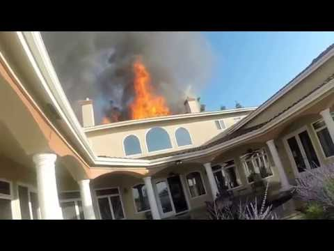 CA Mansion Fire