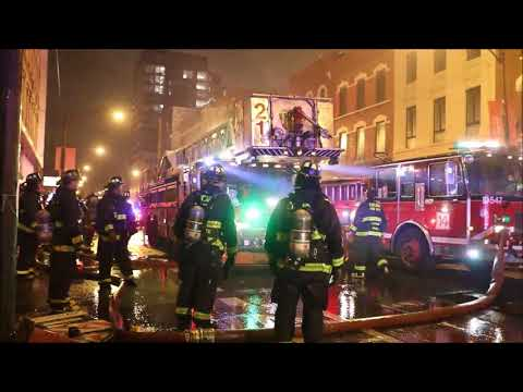 Chicago 2-11 Fire 695 Milwaukee Ave