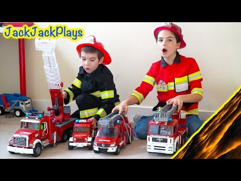 Costume Pretend Play Firefighters