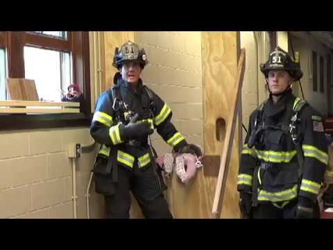 Baby Rescue using a Firefighter VRS