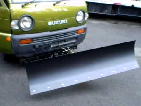 Minitruck Snow Plow www.minitruck.ca