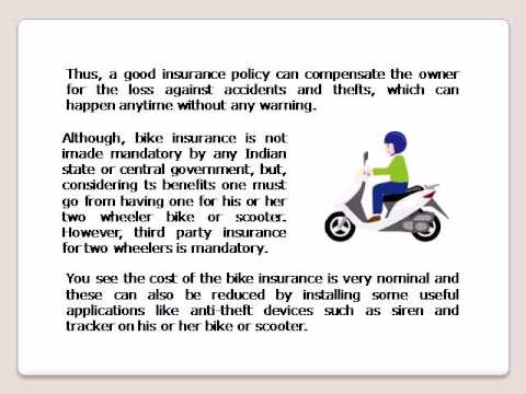 Why should you opt for bike insurance purchase