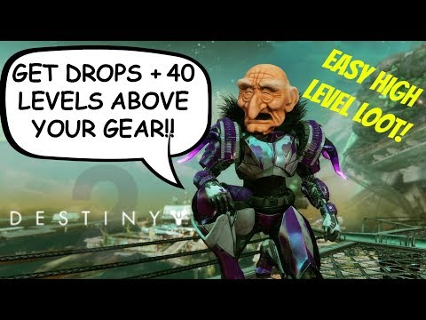 Destiny 2 How To Get The BEST Loot Drops! Level Up Power FAST! High Light Legendary/Exotic Engrams!