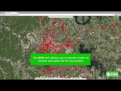 FTTX Network Design - 3-GIS