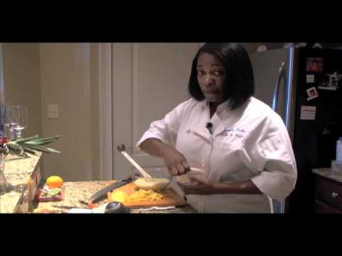 Chef Erika Davis: Goat Cheese Orange Cheesecake