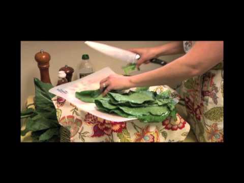 Chef Jessica: Collard Salad