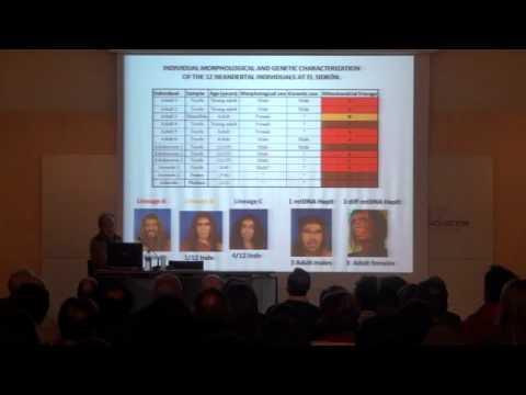 Conferencia de Carles Lalueza-Fox. Paleogenómica Neandertal; Posibilidades y futuro