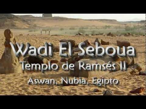 Templo de Wadi El Seboua. Aswan, Nubia, Egipto