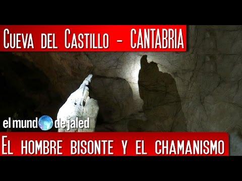 CUEVA DE EL CASTILLO, el hombre bisonte y el chamanismo.  Capítulo 2 de 2