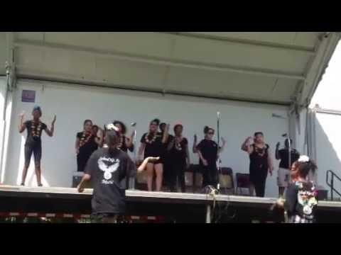 """School 54 Show Choir """"Surfing USA"""" at Square Fair 6/1/13"""