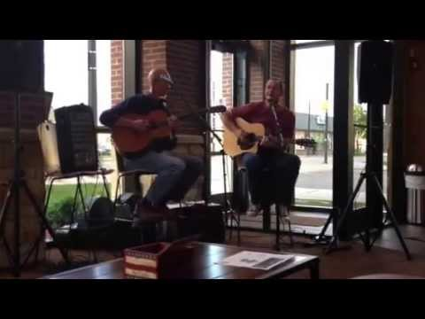 Bill Welch and Gene Rogalski at the 1872 Cafe 6/13/13