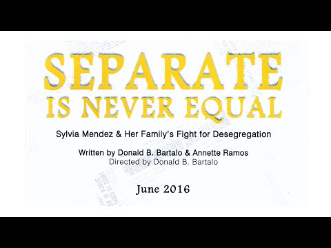 Separate Is Never Equal  -  2016-06-11