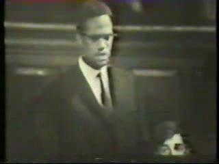 For Memorial Day: Malcolm at Oxford, 1964