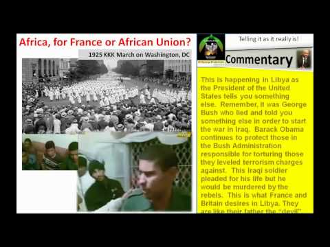 Africa, for France or African Union, 2 of 3