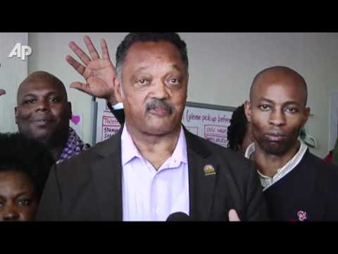 Jackson Lends Support to Occupy Atlanta