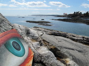 Eye of truth in Southport Island ,Maine